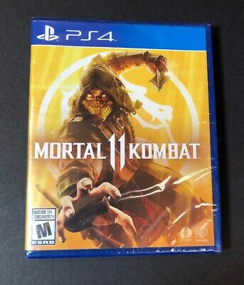 Mortal Kombat 11 (PS4) NEW