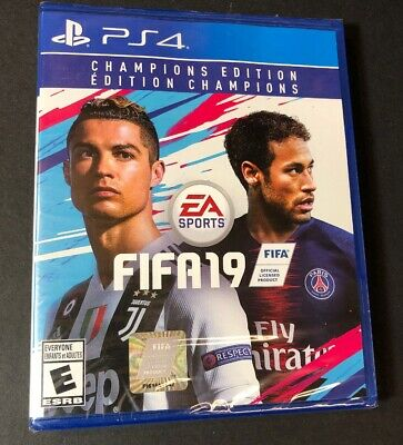 FIFA 19 [ Champions Edition ] (PS4) NEW