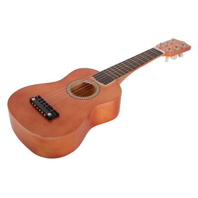 """New 21"""" Acoustic Guitar Coffee w/ 6 String for Children Kids"""