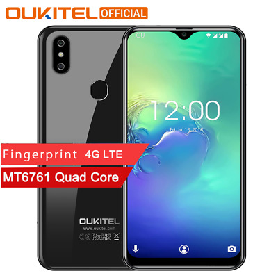 6.08''OUKITEL C15 Pro 4G Smartphone Android 9.0 16GB Mobile MT6761 2.4G/5G WiFi