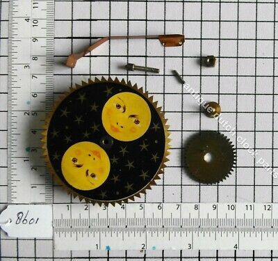 Complete Set To Replace Or Fit Moondisc On Friesian Or Schippertje Wall Clock