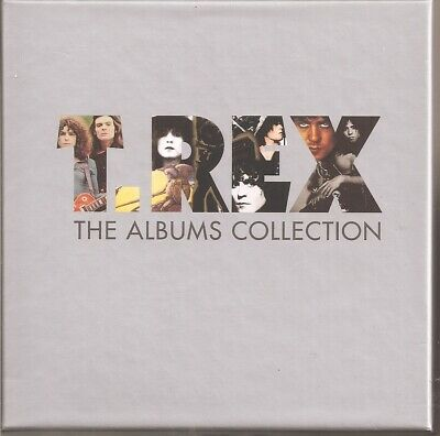 T-Rex Marc Bolan The Albums Collection Box Set 10 Cd Edsel David Bowie Very Rare