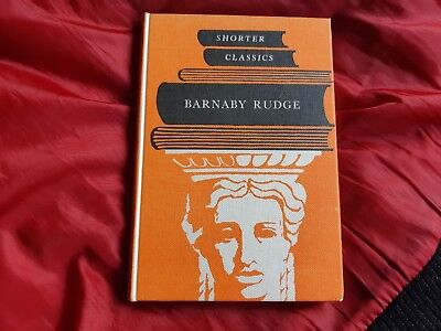 Barnaby Rudge by Charles Dickens, Children's Classic Book