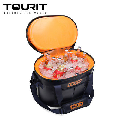 TOURIT 30 Cans Leak-Proof Pack Cooler Waterproof Insulated Soft Sided Cooler Bag