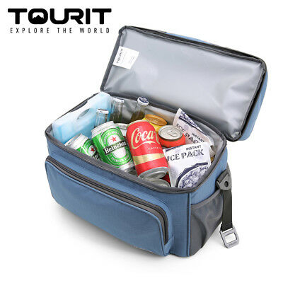 TOURIT Insulated Soft Cooler Bag 15 Cans Large Lunch Bag Travel Cooler Tote 22L
