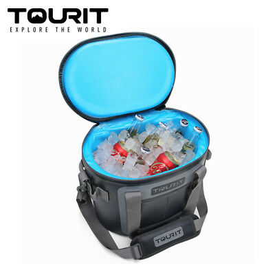 TOURIT 20 Cans Leak-proof Pack Cooler Waterproof Insulated Soft Sided Cooler Bag