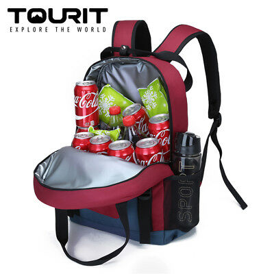 TOURIT Insulated Backpack Cooler Bag Water Resistant Lunch Backpack with Cooler