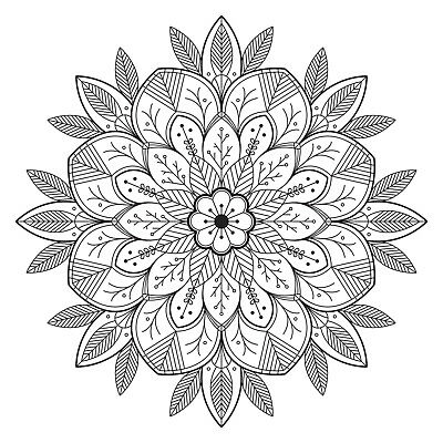 Mandala Adult Colouring Pages - Download & Print - Digital Pdf 35 Pages