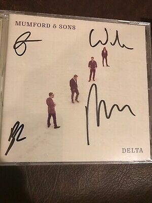 Mumford And Sons - Delta 2018 Signed - Brand New CD Factory Sealed- Autographed