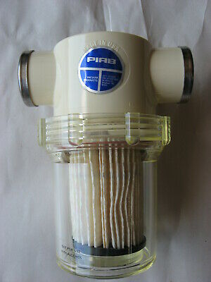"""Piab Vacuum Filter Assembly With 1"""" Npt Connections / Housing And Filter"""