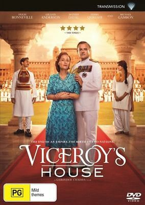 Viceroy's House DVD NEW Region 4 Hugh Bonneville Gillian Anderson