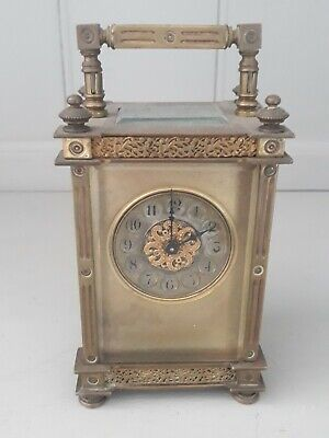 Antique French Carriage Clock c1880