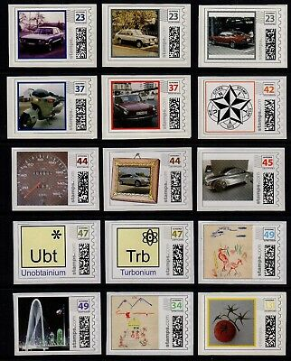 LARGE LOT OF 59 different mint custom Postage stamps  (PhotoStamp,Endicia,Zazzle)