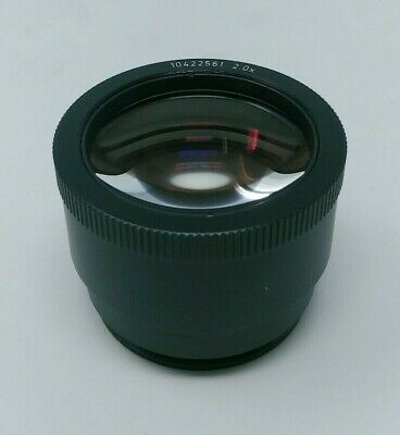 Leica Microscope Objective Lens 2.0x 10422561 for MZ Series