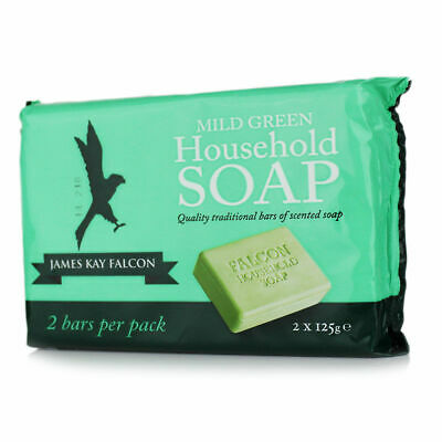 James Kay Falcon Mild Green Household Soap 2 pack x3