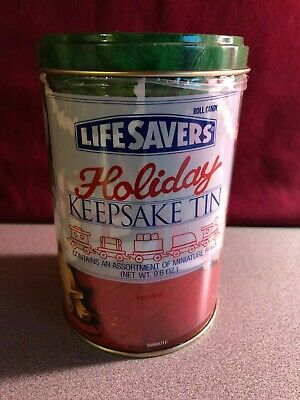 Lifesavers~Holiday 1993 Tin~With Unopened Candy