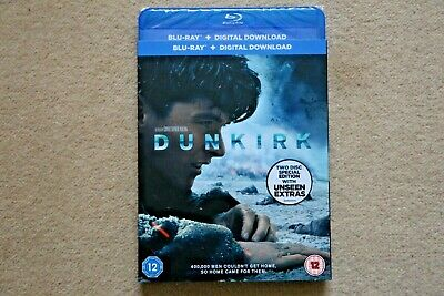 Blu-Ray Dunkirk ( 2 Disc + Unseen Extras )    New Sealed Uk Stock