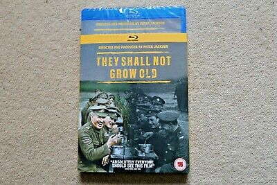 Blu-Ray They Shall Not Grow Old  ( Dir By Peter Jackson )    New Sealed Uk Stock