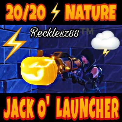 ⚡️ NATURE Jack O Launcher ⚡️- Fortnite Save The World