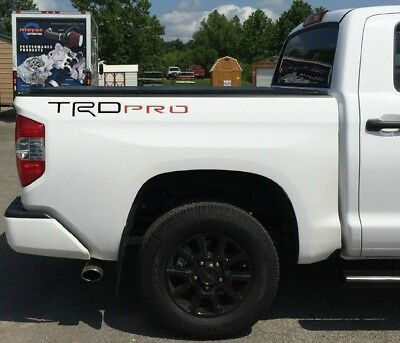 BDTrimsRed//Black Carbon Tailgate Plastic Letters for Toyota Tundra 2014-2019
