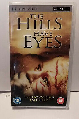 The Hills Have Eyes (very good)  Sony PSP UMD Video Movie