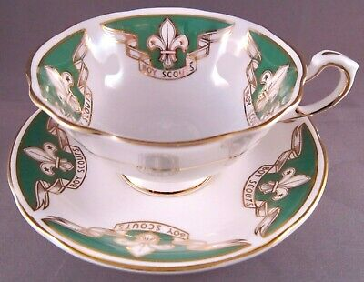 Paragon Boy Scouts Bone China Tea Cup & Saucer - Vintage English China