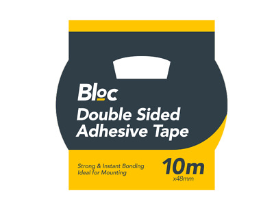 Double Sided Adhesive Tape 10m Strong & Instant Bonding Ideal For Mounting