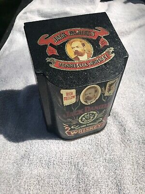 Vintage Jack Daniels Old No 7 Whiskey Tin Box MAKE AN OFFER