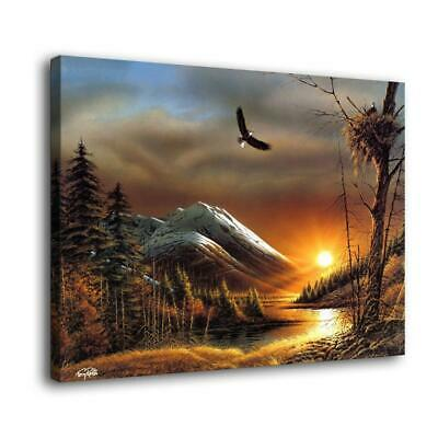 """12""""x16"""" Dusk of the Forest Posters HD Canvas prints Home decor Wall art Pictures"""