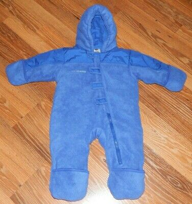 d3cbbc50d Boys Size 18 Months Columbia Insulated Snow Suit Bunting Blue Puffer Fleece