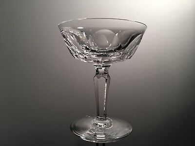 Waterford Crystal SHEILA Champagne Sherbet Dessert Glass Ireland Cut Panels