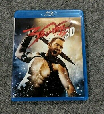 300 Rise of an Empire 3D - Blu-ray Disc - GENTLY USED - EXCELLENT CONDITION
