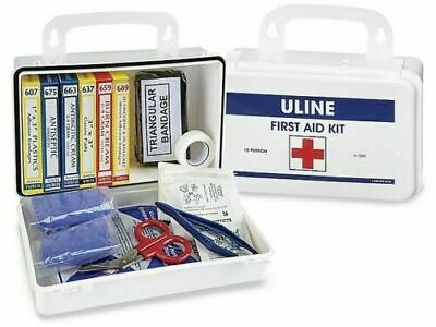 NEW Uline First Aid Kit (10 Person) Medical Safety Kit Survival Home Office Dorm