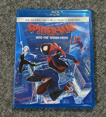 Spiderman Into the Spider-verse - Blu-ray Disc with Digital Copy  - GENTLY USED
