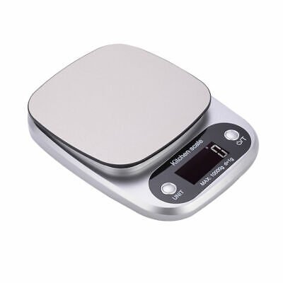 Electronic LCD Digital Mini Kitchen Scale Balance 10kg/1g Precision Food Weight