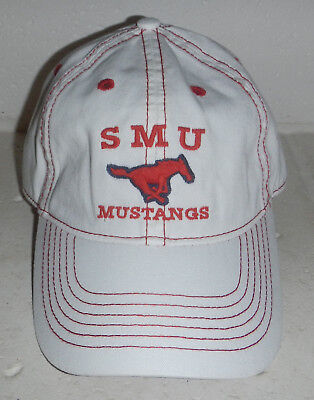 half off cd639 0a6d9 Southern Methodist University SMU Mustangs Baseball Hat Cap by Legacy