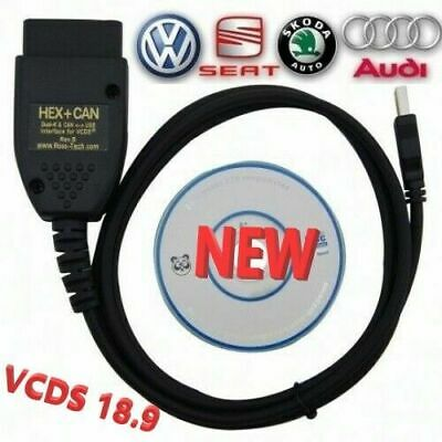 VCDS HEX INTERFACE VAG COM 18 9 FOR VW AUDI Skoda Seat Vagcom VCDS