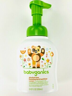 Babyganics Alcohol-Free Foaming Hand Sanitizer Mandarin 8.45 fl oz / 250ml
