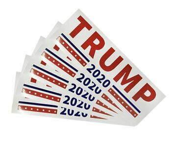Donald Trump Bumper Sticker 2020 Keep America Great TWO STICKERS