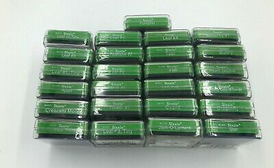Sizzix Original Small GREEN Dies in Cases, U Pick from over 20 models, Cuttlebug