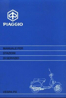Manuale Officina Vespa Px Workshop Manual Piaggio Vespa Px 125 150 200
