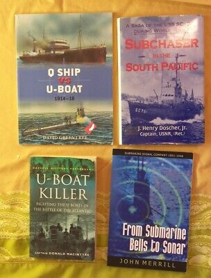 4BK  Bells to Sonar Submarine History Subchaser in the South Pacific Ephemera