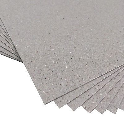 New Boxboard A3 450gsm 80 Sheets - Chipboard Backing Board Cardboard Recycled