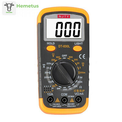 ELIKE DT6013 Capacitance Meter/Capacitor Tester 0.1pF to 20mF with Data Hold...