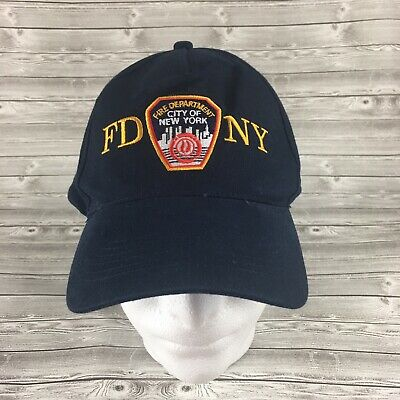 f21d3df96 FD NY Baseball Cap Hat Fire Department New York City One Size Adjustable