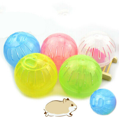 10/12cm Lovely Hamster Running Exercise Plastic Ball Pet Rodent Mice Jogging Toy