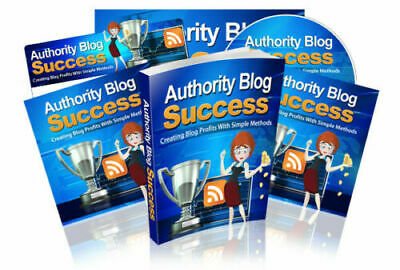 Authority Blog Success PDF with Master Resell Rights