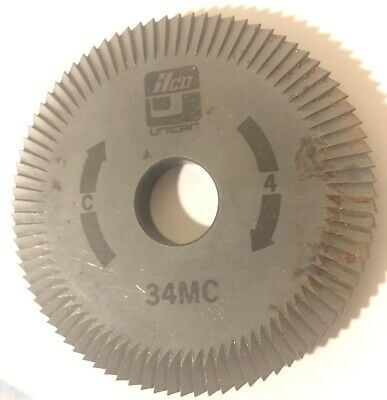 Ilco Key Cutter Wheel 34MC Machine C 4 Free Shipping Unican