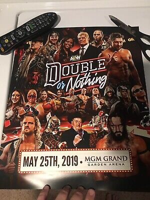 AEW Double Or Nothing Event Poster