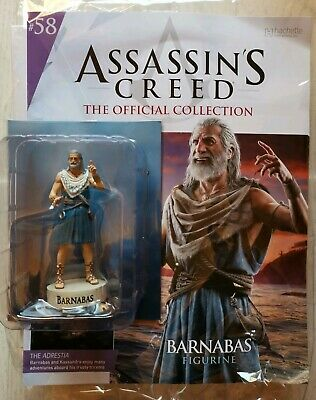 Hachette Assassin's Creed figurine Collection:  Issue 58 BARNABAS NEW AND SEALED